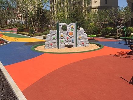 大连未来城儿童活动区工程