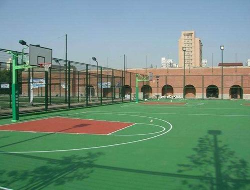 丹东硅PU篮球场