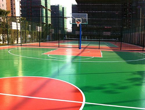 旅顺硅PU篮球场