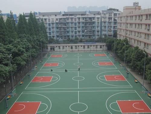 营口硅PU篮球场