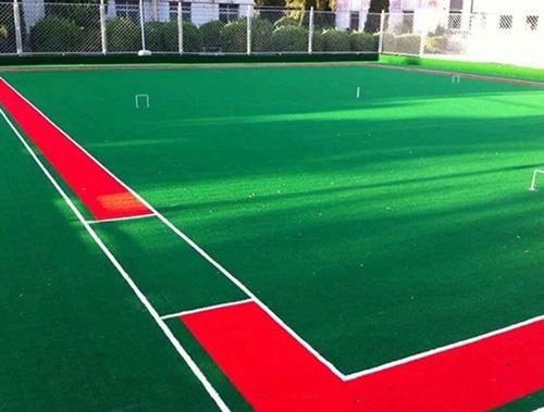 足球场人造草坪铺装